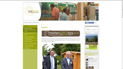 Screenshot Website www.holzforum-schwarzenbach-wald.de