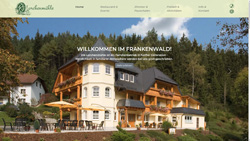 Screenshot Website www.lorchenmuehle.de